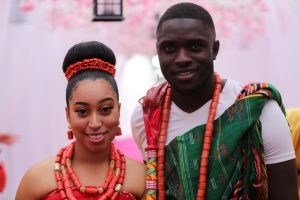 Sharon Carissa and Phillip Frimpong