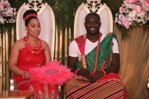 Carissa Sharon Oyakhilome and Phillip Frimpong