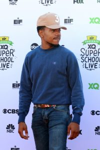 Chance the Rapper Kathy Hutchins / Shutterstock