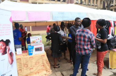 CeFlix Tunes Visits UniLag Exhibition