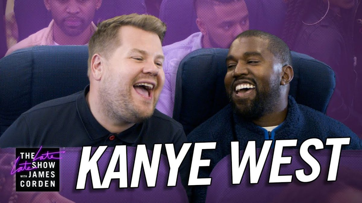 Kanye West Airpool Karaoke Lifts Host James Corden