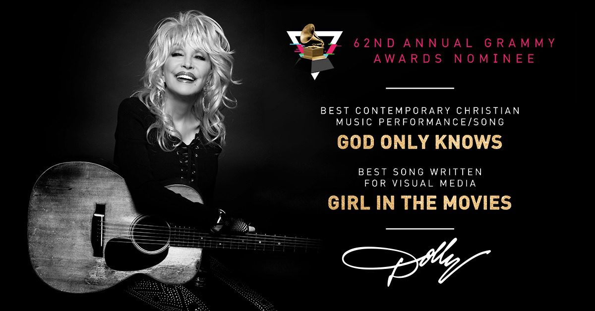 Double Grammy Nominee Dolly Parton Is Singing Christian Songs