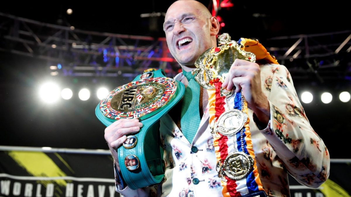 WEC Champion Tyson Fury Thanks His Lord and Savior Jesus Christ For Historic Victory