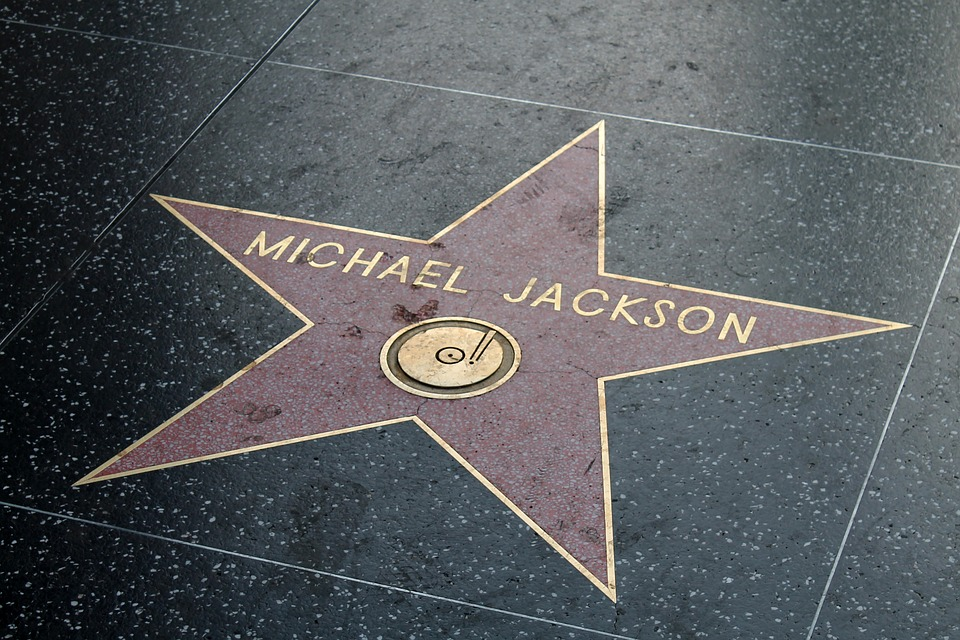 Michael Jackson Hollywood Boulevard