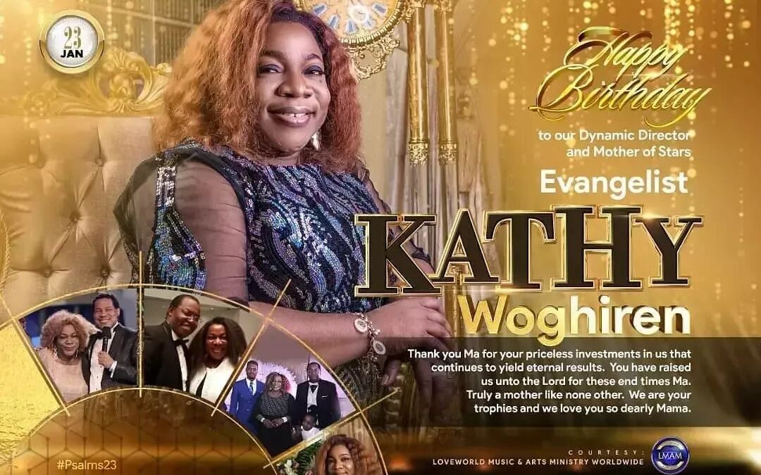 LoveWorld celebrates the birthday of Kathy Woghiren